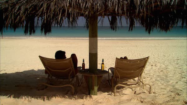Corona-ad-style trips look like paradise during the week, but getting trapped in one forever would be a little bit like hell, wouldn't it?